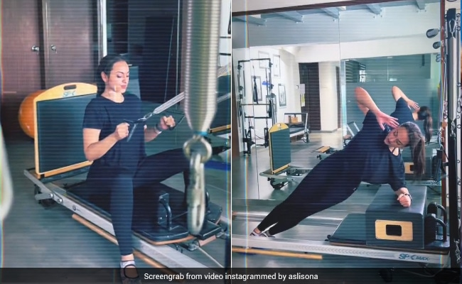 Sonakshi Sinha Is 'Back To The Grind' And She's Already Setting Pilates Goals