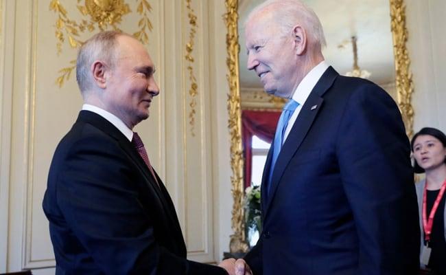 Biden And Putin Shake Hands, Kicking Off Geneva Summit