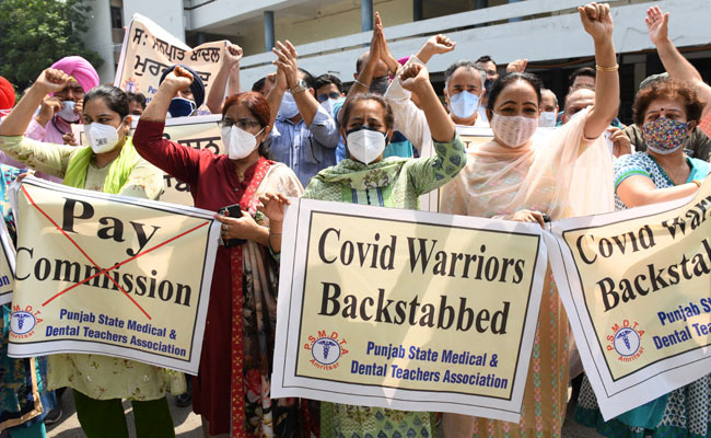 Medical Services Hit In Punjab As Government Doctors Observe Day-Long Strike