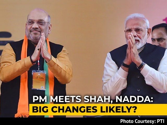 Video : PM Meets Amit Shah, BJP Chief Amid Buzz Over Possible Cabinet Expansion