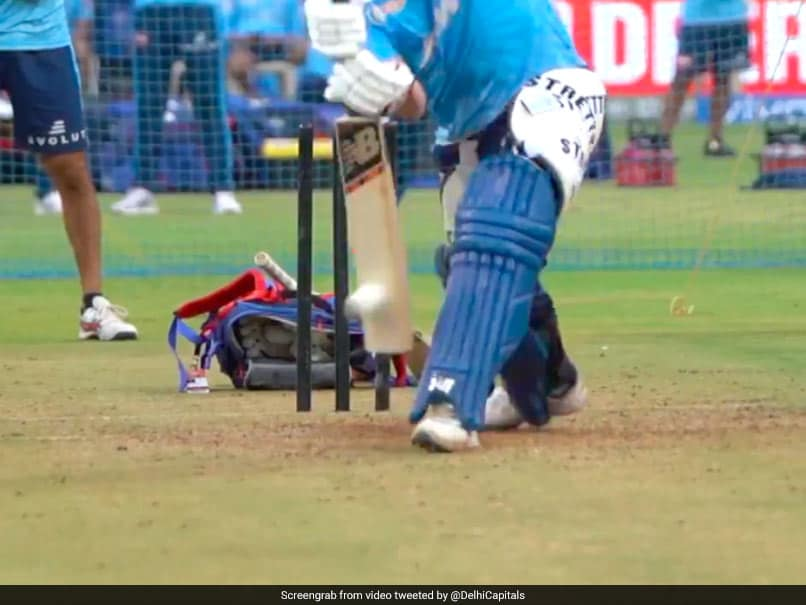 """""""Guess The Star"""": Delhi Capitals Share Video Of Batsman At The Nets. Watch"""