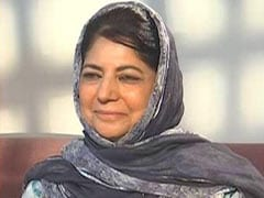 """Kashmiris """"Considered Guilty Until Proven Innocent"""": PDP President Mehbooba Mufti"""
