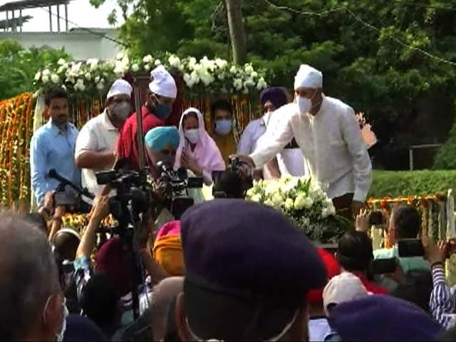 Video : Milkha Singh To Be Cremated With Full State Honours
