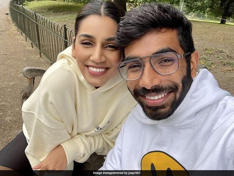 Jasprit Bumrah All Smiles In Cute Selfie With Sanjana Ganesan