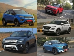 Top 5 Subcompact SUVs Offered With ISOFIX Seat Mounts Under Rs. 12 Lakh