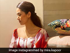 We Don't Think Anything Can Brighten Our Day Better Than Mira Rajput's Dress Today
