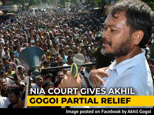 Video : NIA Court Clears Akhil Gogoi Of Charges Under UAPA In 1 Of 2 Cases