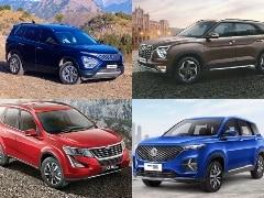 Hyundai Alcazar vs Tata Safari vs MG Hector Plus vs Mahindra XUV500: Spec Comparison