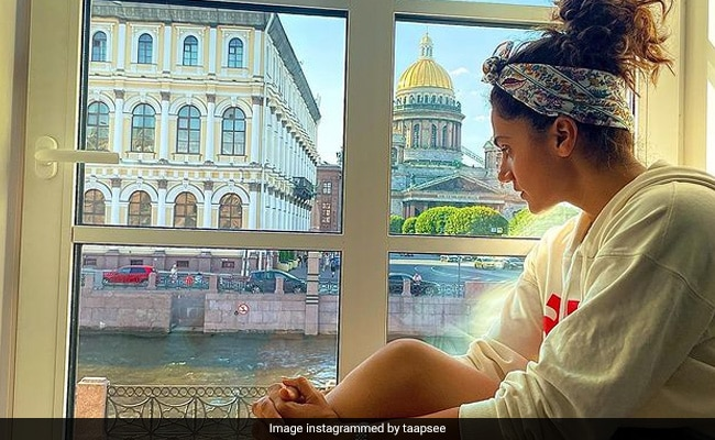Before Leaving Russia, Taapsee Pannu Shares This 'Photographic View'