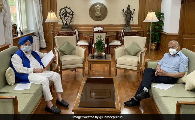 Ladakh Lt Governor, Aviation Minister Discuss Air Connectivity Possibilities For Kargil