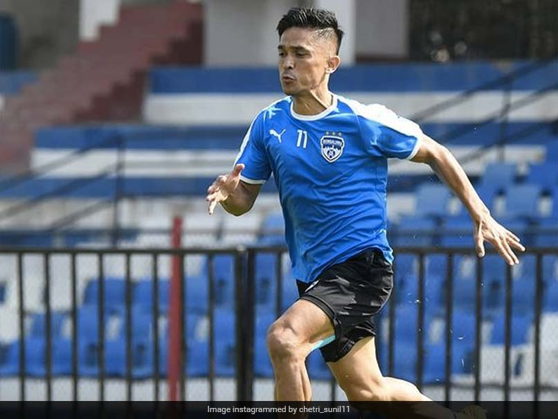 Indian Football Icon Sunil Chhetri Extends Contract With Bengaluru FC For Two More Years