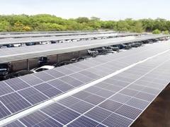 India's Largest Solar Carport Inaugurated At Tata Motors' Plant In Pune