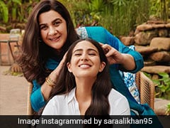 For Sara Ali Khan And Amrita Singh, Head Massages Seem To Always Turn Into Bonding Sessions