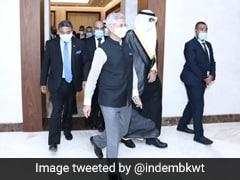 Foreign Affairs Minister S Jaishankar Arrives In Kuwait On Bilateral Visit