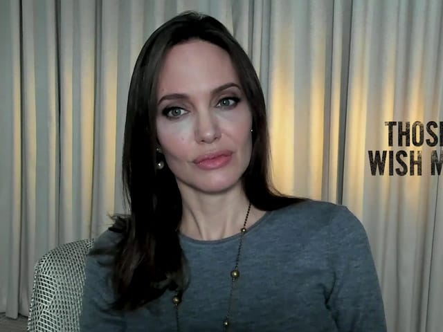Video : Angelina Jolie To NDTV On Playing A Rugged Firefighter In Neo-Western Movie