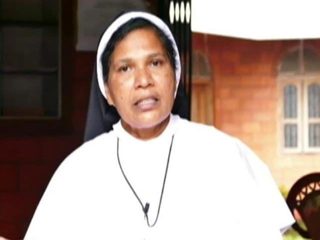 """Video : """"Because I Protested"""": Nun Who Spoke Against Rape Accused Bishop Asked To Leave Convent"""