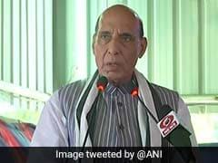 On India's Strength vs Pak, Rajnath Singh Cites Balakot Air Strike