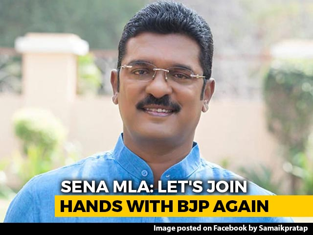 """Video : """"Central Agencies Harassing, Let's Join Hands With BJP Again"""": Sena MLA"""