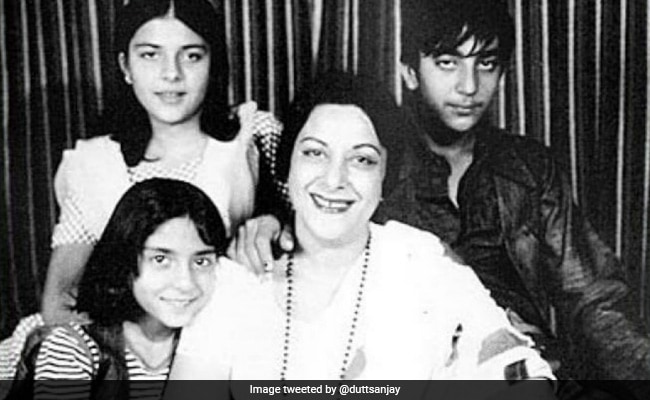 'There's Nobody Like You': Sanjay Dutt Posts Throwbacks On Mom Nargis' Birth Anniversary