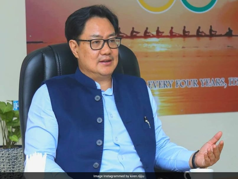 """Tokyo Games: """"There Cant Be Any Discrimination,"""" Says Kiren Rijiju On Additional COVID Restriction For Indias Olympic-Bound"""