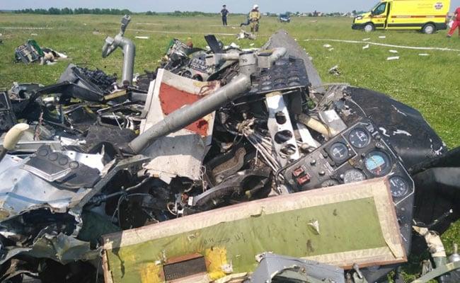 Four Killed, Four Badly Injured In Plane Crash In Siberia