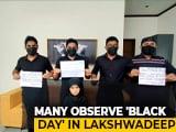 Video : Amid A Black Flag Protest, Lakshadweep's New Administrator Praful Patel Arrives