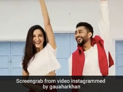 Gauahar Khan And Zaid Darbar Don't Even Miss Out Dancing In Matching Outfits