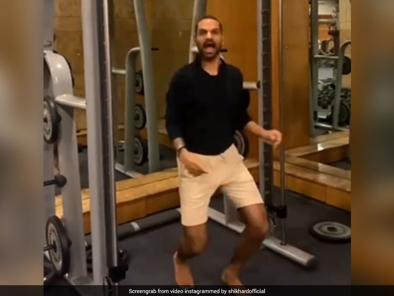 """Watch: Shikhar Dhawan Aces """"Make People Think Its A Photo"""" Challenge"""