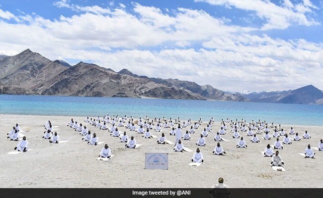 International Yoga Day 2021: In Pictures