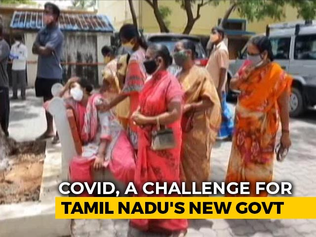 Video : Covid Cases Dip, Concern Over Rising Deaths In Tamil Nadu