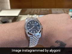 Aly Goni Says <i>Sayonara</i> To All His Watches For The Rolex DateJust 41 Worth Rs 5.7 Lakh