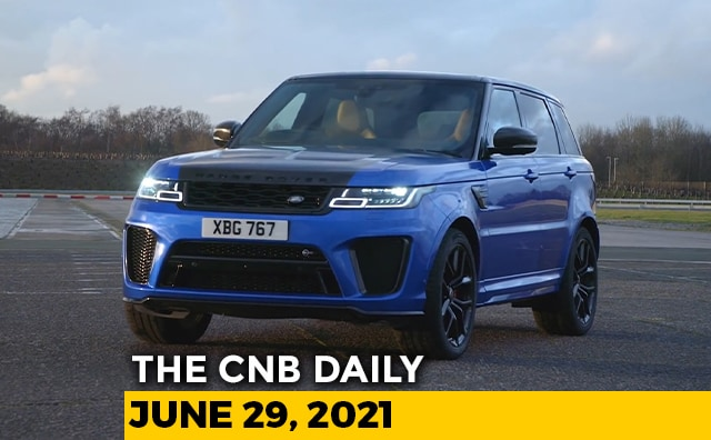 Video : Range Rover Sport SVR Launch   Audi e-tron Bookings   NATRAX High-Speed Test Track
