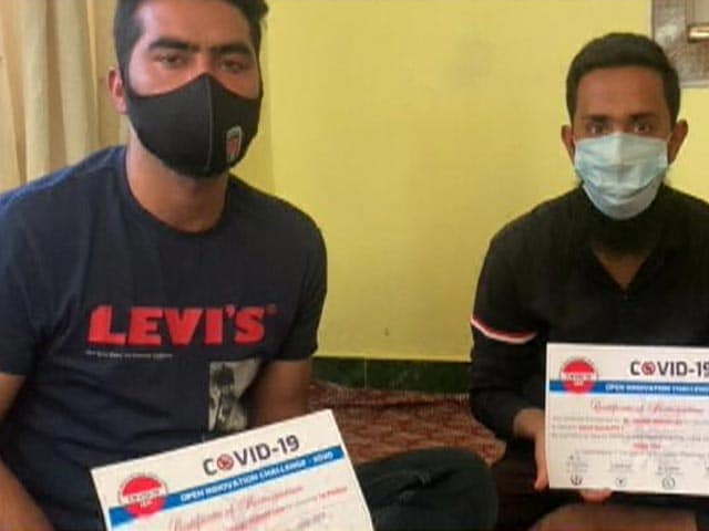 Video : Two Students Make Low-Cost Ventilator From Scrap In Kashmir