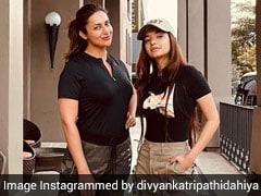 "Divyanka Tripathi And Anushka Sen's ""Military Twinning"" Looks Are Nothing Short Of Rugged Chic"