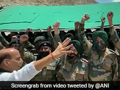 Video: Rajnath Singh Chants Powerful Prayer With Soldiers In Ladakh
