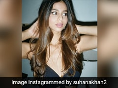 Nothing Is Too Basic For Suhana Khan In Her Fabulously Chic Black Dress