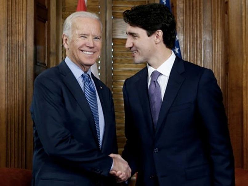 """Youre On Pal"": Joe Biden, Justin Trudeau Bet On NHL Stanley Cup Final"
