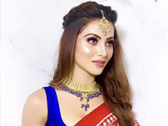 Only Urvashi Rautela Can Add Her Touch Of Glam To A Vibrant Patola Saree