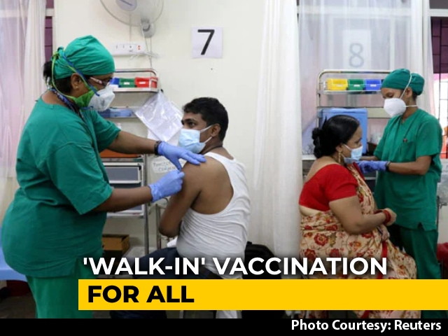 Video : Anyone 18+ Can Walk-In For CoWin Registration, Vaccination: Government