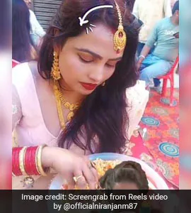 Woman Caught Eating Food With Hands - Video Will Leave You In Splits