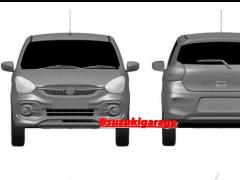 Next-Generation Maruti Suzuki Celerio Leaked Via Patent Images