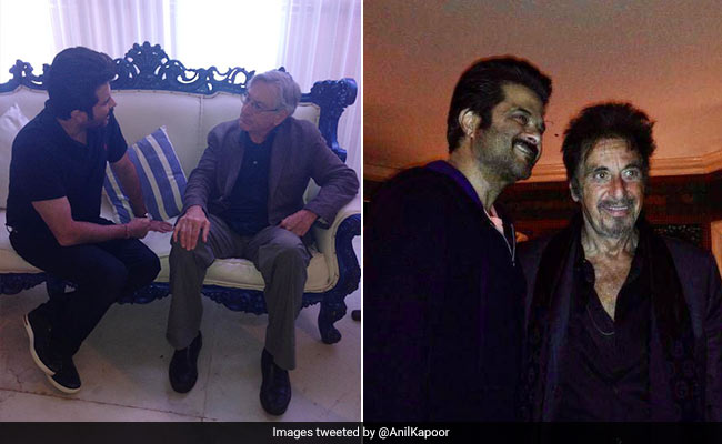 Anil Kapoor With 2 Of The Reasons He 'Loves Being An Actor' - Robert De Niro And Al Pacino