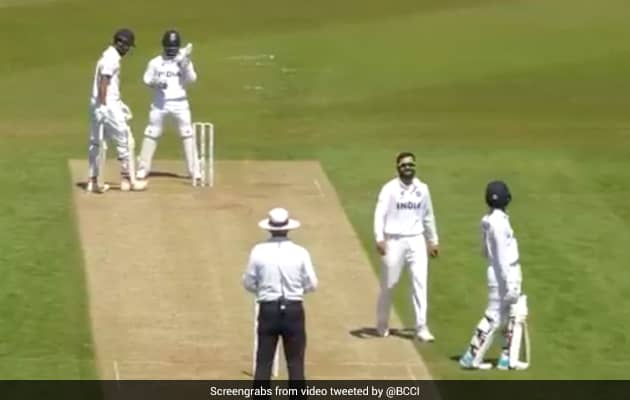 Watch: Kohli Bowls To KL Rahul During Team Indias Intra-Squad Match