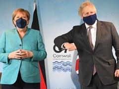 Boris Johnson Elbow-Bumped Angela Merkel. No Response.