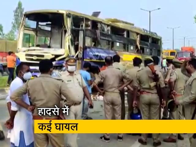 Video : मुरादाबाद: बस और मिनी ट्रक की टक्कर, 5 लोगों की मौत