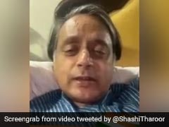 """""""My Message From Covid Sickbed"""": Shashi Tharoor's Video On Vaccine Policy"""