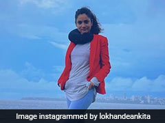 Ankita Lokhande Adds A Pop Of Colour To Gloomy Monsoon Skies With Her Laid Back Look