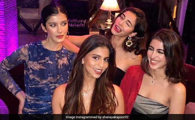Shanaya Kapoor's Pink Eyeshadow Look Is Inspired By One Of Her Besties. Guess Who