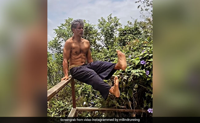 Nothing To See Here, Just Milind Soman 'Chilling Like A Villain'