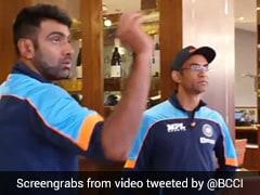 """Watch: Ravichandran Ashwin Plays Darts With Coaching Staff In WTC Final """"Rain Break"""""""